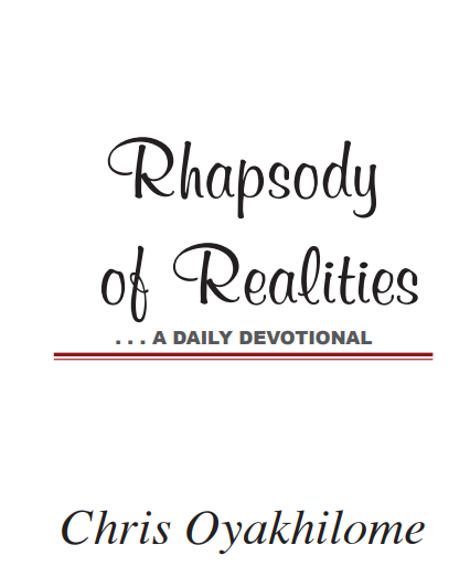 Rhapsody Of Realities Sunday 25th
